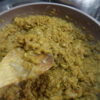 手作りカレールー作り。玉ねぎメインで小麦粉なし。